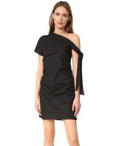 MLM LABEL   Асимметричное Платье С Завязками