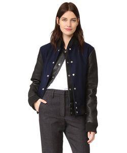 Oak | Куртка С Двухслойной Планкой В Студенческом Стиле