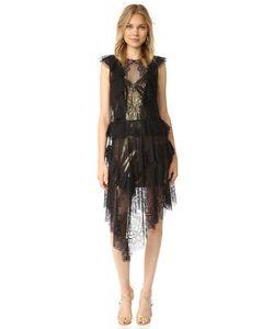 BCBGMAXAZRIA | Кружевное Платье Kailin С Оборками