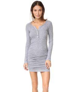 Lanston | Платье Со Сборками И Передней Застежкой