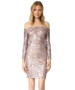 BCBGMAXAZRIA | Платье С Открытыми Плечами И Декоративной Отделкой