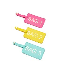 Gift Boutique   Коробка Багажных Бирок Bags 1-2-3