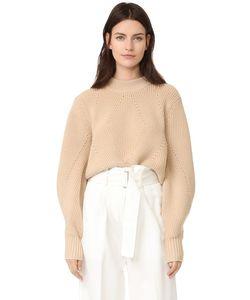 DKNY | Пуловер С Очень Длинными Рукавами И Вырезом На Спине