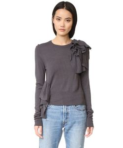 MM6 by Maison Margiela | Ruffle Sweater