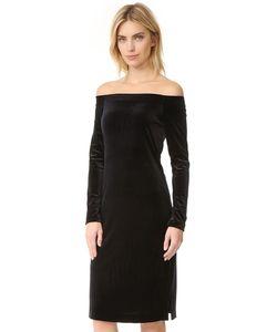 Three Dots | Платье Из Велюра