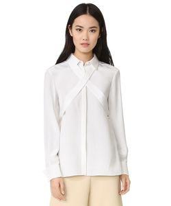 Tibi | Шелковая Блуза С Завязками