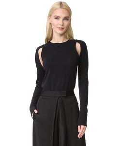 DKNY | Knit Top With Cutouts