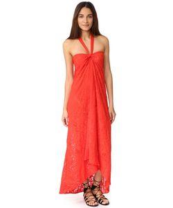 Fuzzi | Длинное Платье С Американской Проймой