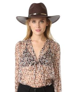JANESSA LEONE | Emma Short Brimmed Panama Hat