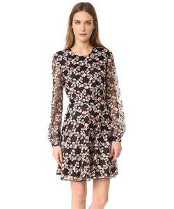 Just Cavalli | Кружевное Платье С Длинными Рукавами