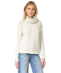 Madewell | Пуловер С Рубчатой Кокеткой И Завязками
