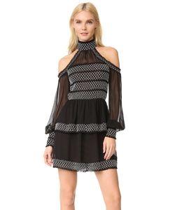 Nicholas | Платье С Мелкими Сборками И Открытыми Плечами