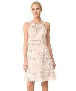 Marchesa Notte | Текстурированное Коктейльное Платье