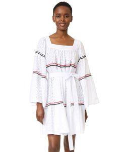 Lisa Marie Fernandez | Короткое Платье В Деревенском Стиле