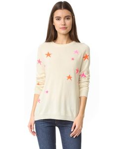 Chinti And Parker | Slouchy Star Cashmere Sweater