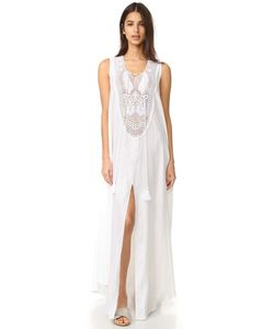 Miguelina | Lana Linen Maxi Dress
