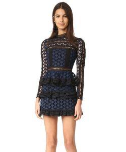 SELF-PORTRAIT | Кружевное Платье Star С Высоким Вырезом