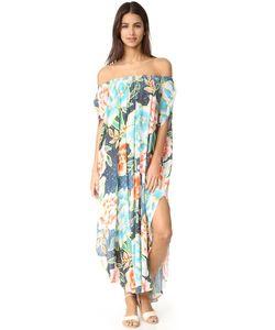 Mara Hoffman | Пляжное Платье С Открытым Плечами