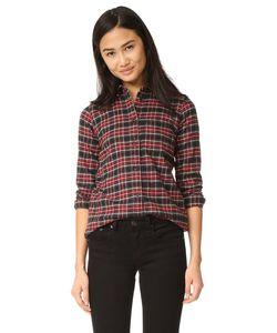 Madewell | Облегающая Рубашка В Мужском Стиле