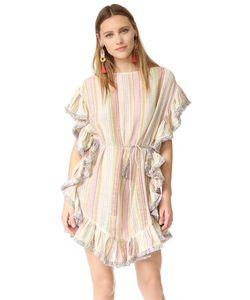 Zimmermann | Развевающееся Пляжное Платье Tropical С Бахромой