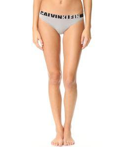 Calvin Klein | Бесшовные Трусики-Танга С Логотипом