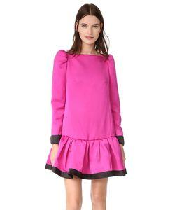 Marc Jacobs | Платье С Оборками И Длинными Рукавами
