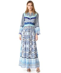 HEMANT AND NANDITA | Длинное Платье Ceramic