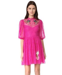 Temperley London | Leo Lace Mini Dress