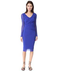 Fuzzi | Платье С Длинными Рукавами И V-Образным Вырезом