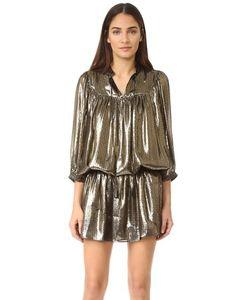 Just Cavalli | Металлизированное Платье С Заниженной Талией