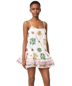 Juliet Dunn | Пляжное Платье С Вышивкой