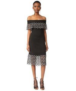 Lela Rose | Платье С Открытыми Плечами