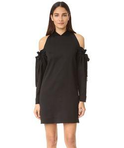 DKNY | Платье С Открытыми Плечами И Необработанными Краями