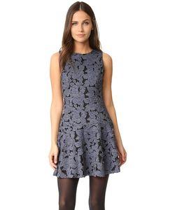 Alice + Olivia | Платье Fonda С Заниженной Талией И Округлым Вырезом