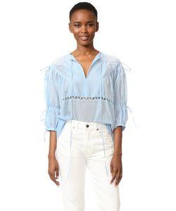 No. 21 | Блуза С V-Образным Вырезом