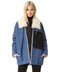 Sandy Liang | Пальто С Citroen Короткая Шерсть.