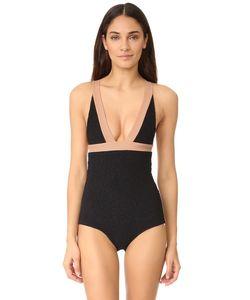 Tori Praver Swimwear | Сплошной Купальник Крит-С Цветными Блоками Isabella