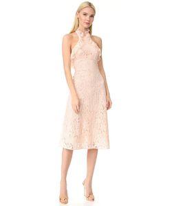 Lover | Платье С Американской Проймой Близости С Оборками