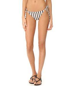 Tori Praver Swimwear | Sunday В Полоску Плавки Allegra С Завязками По Бокам