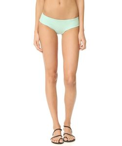 Tori Praver Swimwear | Однотонные Плавки Бикини Джемма