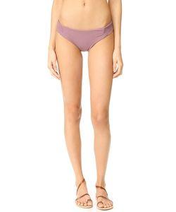 Tori Praver Swimwear | Одноцветные Плавки Бетани