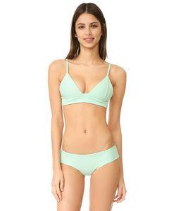 Tori Praver Swimwear | Топ С Треугольными Чашечками В Даниэла Solids