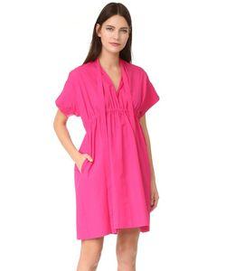 No. 21 | Поплиновое Платье С Короткими Рукавами