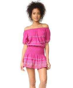 Piper | Платье С Вышивкой С Открытыми Плечами
