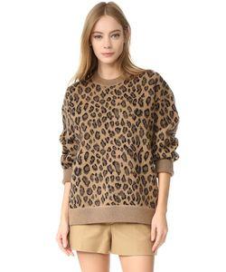 Alexander Wang | Пуловер С Округлым Вырезом Leopard