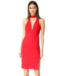 Michelle Mason | Платье С Колье Низкой