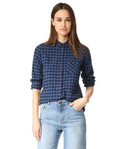 Madewell | Узкие Рубашка На Пуговицах
