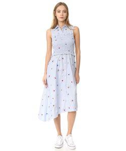 Suno | Платье-Рубашка Сборками