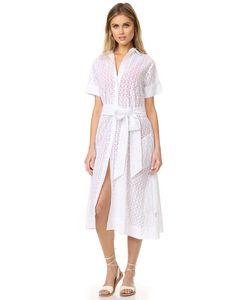 Lisa Marie Fernandez | Платье-Рубашка С Прорезями
