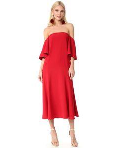 Edit | Платье С Открытыми Плечами И Струящимися Рукавами
